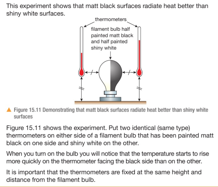 4.09 practical: investigate thermal energy transfer by conduction, convection and radiation